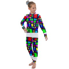 Mosaic Kids  Long Sleeve Set  by thomaslake