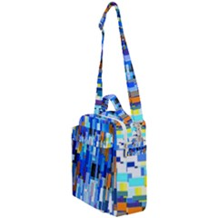 Color Colors Abstract Colorful Crossbody Day Bag