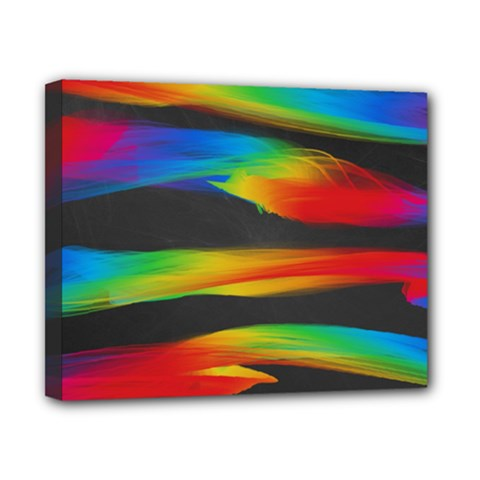 Colorful Background Canvas 10  X 8  (stretched)