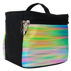 Wave Rainbow Bright Texture Make Up Travel Bag (small)