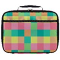 Checkerboard Pastel Squares Full Print Lunch Bag View1