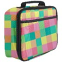Checkerboard Pastel Squares Full Print Lunch Bag View3
