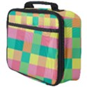 Checkerboard Pastel Squares Full Print Lunch Bag View4