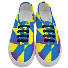 Colorful Red Yellow Blue Purple Women s Classic Low Top Sneakers
