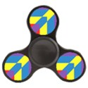 Colorful Red Yellow Blue Purple Finger Spinner View1