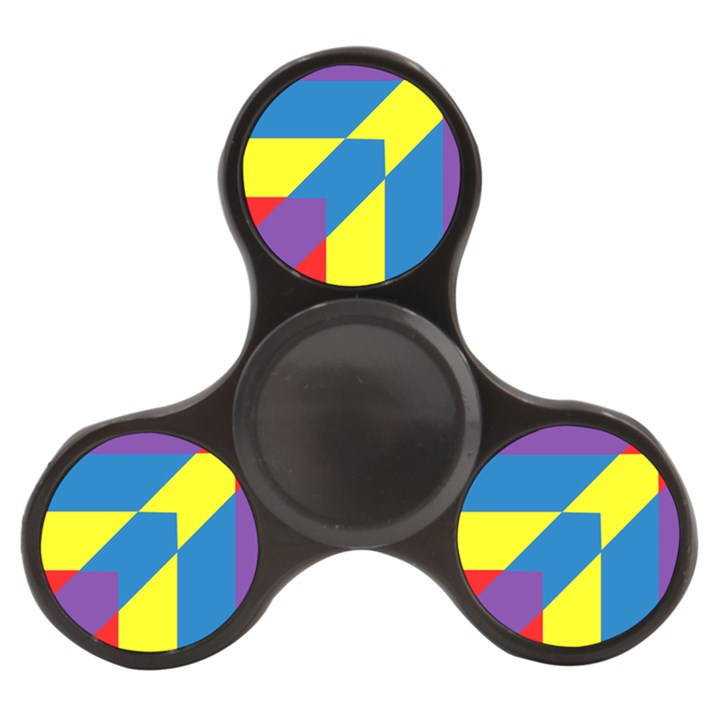 Colorful Red Yellow Blue Purple Finger Spinner