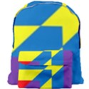 Colorful Red Yellow Blue Purple Giant Full Print Backpack View1