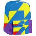 Colorful Red Yellow Blue Purple Giant Full Print Backpack View3
