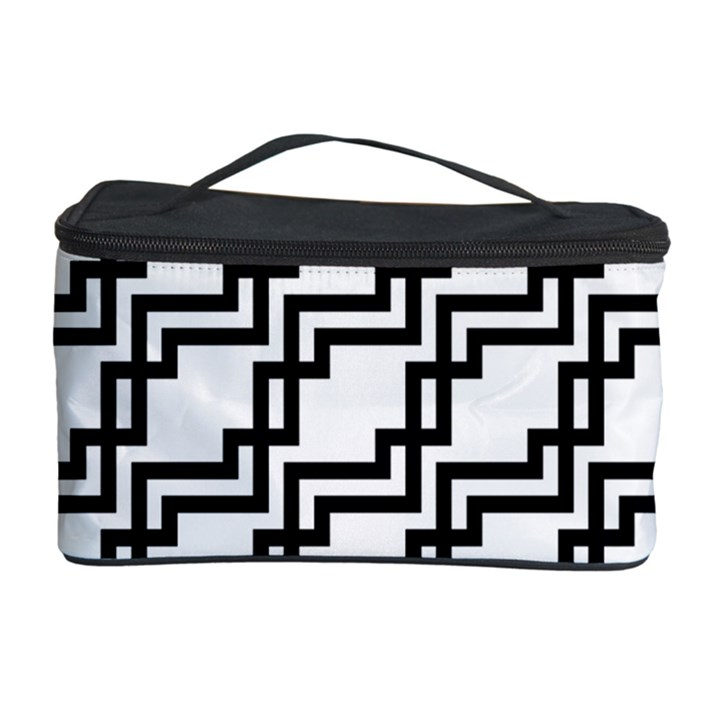 Pattern Monochrome Repeat Cosmetic Storage