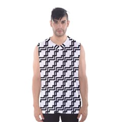 Pattern Monochrome Repeat Men s Sportswear by Sapixe