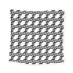 Pattern Monochrome Repeat Square Tapestry (small) by Sapixe