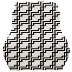 Pattern Monochrome Repeat Car Seat Back Cushion