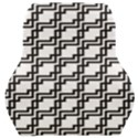 Pattern Monochrome Repeat Car Seat Back Cushion  View1