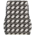Pattern Monochrome Repeat Car Seat Back Cushion  View2