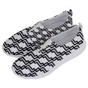 Pattern Monochrome Repeat No Lace Lightweight Shoes View2