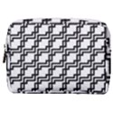 Pattern Monochrome Repeat Make Up Pouch (Medium) View1