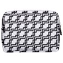 Pattern Monochrome Repeat Make Up Pouch (Medium) View2