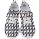 Pattern Monochrome Repeat Women s Velcro Strap Shoes View1