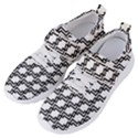 Pattern Monochrome Repeat Women s Velcro Strap Shoes View2