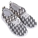 Pattern Monochrome Repeat Women s Velcro Strap Shoes View3