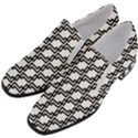 Pattern Monochrome Repeat Slip On Heel Loafers View2