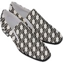 Pattern Monochrome Repeat Slip On Heel Loafers View3