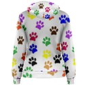 Pawprints Paw Prints Paw Animal Women s Pullover Hoodie View2