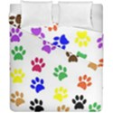 Pawprints Paw Prints Paw Animal Duvet Cover Double Side (California King Size) View1