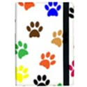 Pawprints Paw Prints Paw Animal Apple iPad Pro 9.7   Flip Case View2