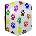 Pawprints Paw Prints Paw Animal Apple iPad Pro 9.7   Flip Case View3