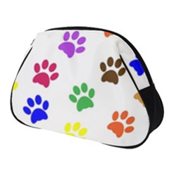 Pawprints Paw Prints Paw Animal Full Print Accessory Pouch (small)