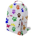 Pawprints Paw Prints Paw Animal Flap Pocket Backpack (Small) View1