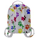 Pawprints Paw Prints Paw Animal Flap Pocket Backpack (Large) View3