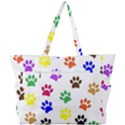 Pawprints Paw Prints Paw Animal Simple Shoulder Bag View3