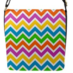 Chevron Pattern Design Texture Removable Flap Cover (s) by Sapixe