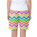 Chevron Pattern Design Texture Women s Basketball Shorts View2