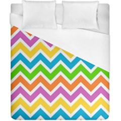 Chevron Pattern Design Texture Duvet Cover (california King Size) by Sapixe