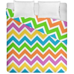Chevron Pattern Design Texture Duvet Cover Double Side (california King Size)