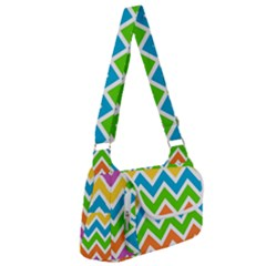 Chevron Pattern Design Texture Multipack Bag