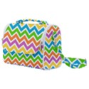 Chevron Pattern Design Texture Satchel Shoulder Bag View1