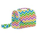 Chevron Pattern Design Texture Satchel Shoulder Bag View2
