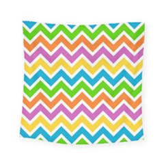 Chevron Pattern Design Texture Square Tapestry (small) by Sapixe