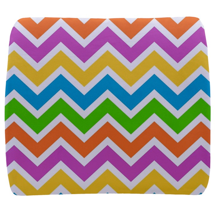 Chevron Pattern Design Texture Back Support Cushion