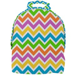 Chevron Pattern Design Texture Mini Full Print Backpack by Sapixe