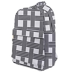 Seamless Stripe Pattern Lines Classic Backpack by Sapixe