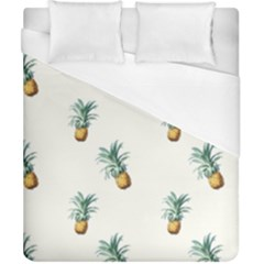 Pineapples Pattern Duvet Cover (california King Size) by goljakoff