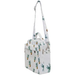 Pineapples Pattern Crossbody Day Bag by goljakoff