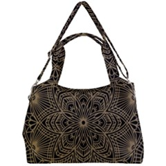 Modern Mandala Design Double Compartment Shoulder Bag by tarastyle