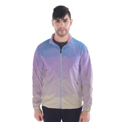 Sunrise Sunset Colours Background Men s Windbreaker