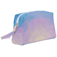 Sunrise Sunset Colours Background Wristlet Pouch Bag (large) by HermanTelo